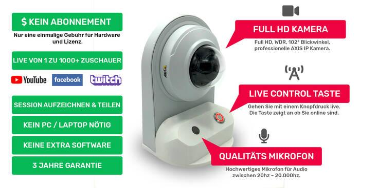 Webcam Center Instruct Cam Functions V3 DE