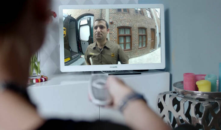 Netcam Viewer Monitor TV UPS MED